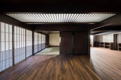 ホール (姫路・天満の家 主屋)