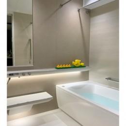 マンション水回りのリノベーション~間接照明でつくるリラックス空間 (バスルーム)