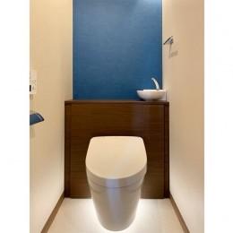 マンション水回りのリノベーション~間接照明でつくるリラックス空間 (トイレ)