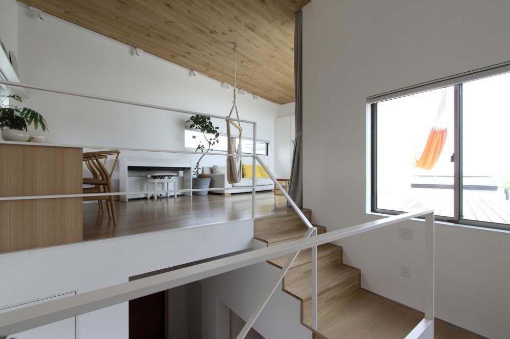 府中の家2~大きなルーフバルコニーのある開放的な家 (開放的な2階LDK)