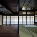 姫路・天満の家 主屋の写真 仏間~ホール~玄関