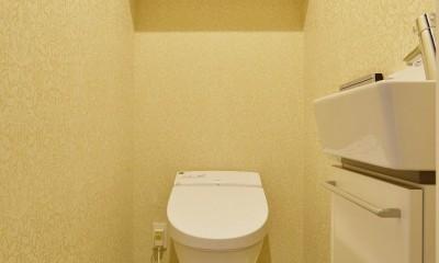 中古マンションを、北欧テイストのナチュラルな空間に (トイレ)