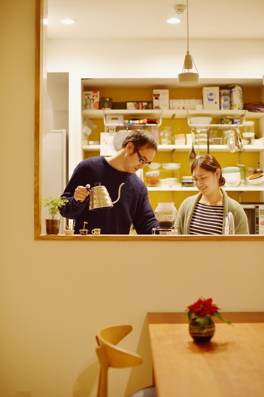 中古マンションを、北欧テイストのナチュラルな空間に (キッチン)
