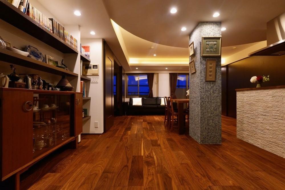エントリエ「南国のリゾートホテルのような空間を東京の自宅で実現」