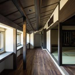 姫路・天満の家 主屋 (読書室と仏間)