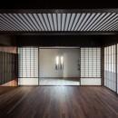 姫路・天満の家 主屋の写真 ホールと玄関