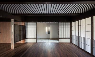 姫路・天満の家 主屋 (ホールと玄関)