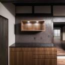 姫路・天満の家 主屋の写真 キッチン(収納部分)