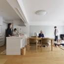 老後を見据え、家族で集える安心・快適な家にフルリノベーションの写真 リビング
