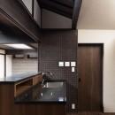 姫路・天満の家 主屋の写真 キッチン(シンク部分)