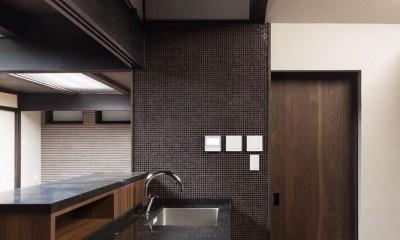 キッチン(シンク部分)|姫路・天満の家 主屋