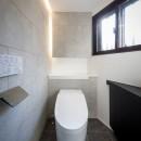 姫路・天満の家 主屋の写真 トイレ