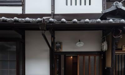 外観|昭和小路の長屋II|賃貸向け京町家のシンプルリノベーション【京都市】