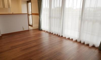 キッチン動線がスマートな家 (床も全室新しくなりました。)
