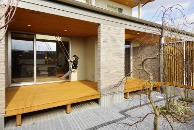 中庭 (空気が澄む家)