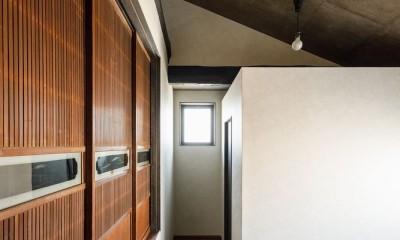 姫路・天満の家 主屋 (寝室)