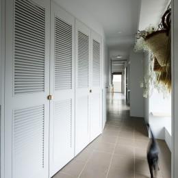 S邸-ごく普通のマンションが猫も喜ぶ「光と風がまわる」空間に