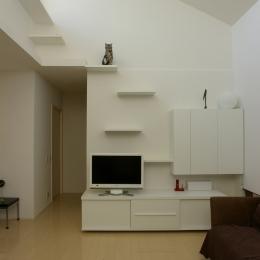 建築家 森吉直剛の住宅事例「K邸 / 猫と犬が共存するためのリフォーム」