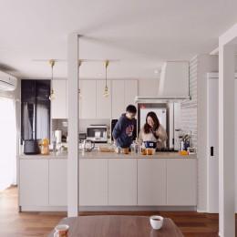 程よい距離を保てる二世帯住宅