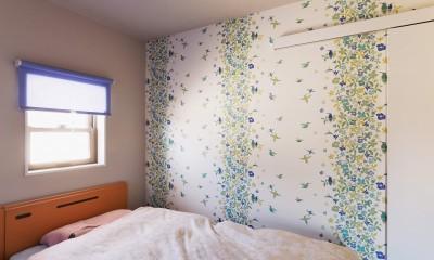 程よい距離を保てる二世帯住宅 (ベッドルーム)