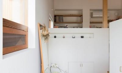 玄関土間|横地の家/趣味を楽しむ平屋の住み家