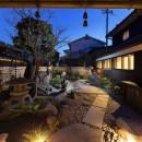 姫路・天満の家 主屋の写真 中庭