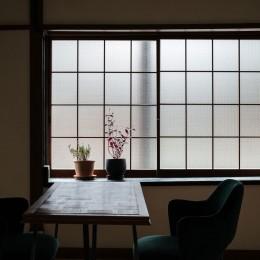 昭和小路の長屋II|賃貸向け京町家のシンプルリノベーション【京都市】 (ダイニング)