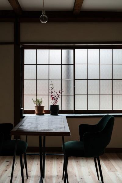ダイニング (昭和小路の長屋II|賃貸向け京町家のシンプルリノベーション【京都市】)