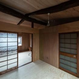 昭和小路の長屋II|賃貸向け京町家のシンプルリノベーション【京都市】 (2階の部屋)