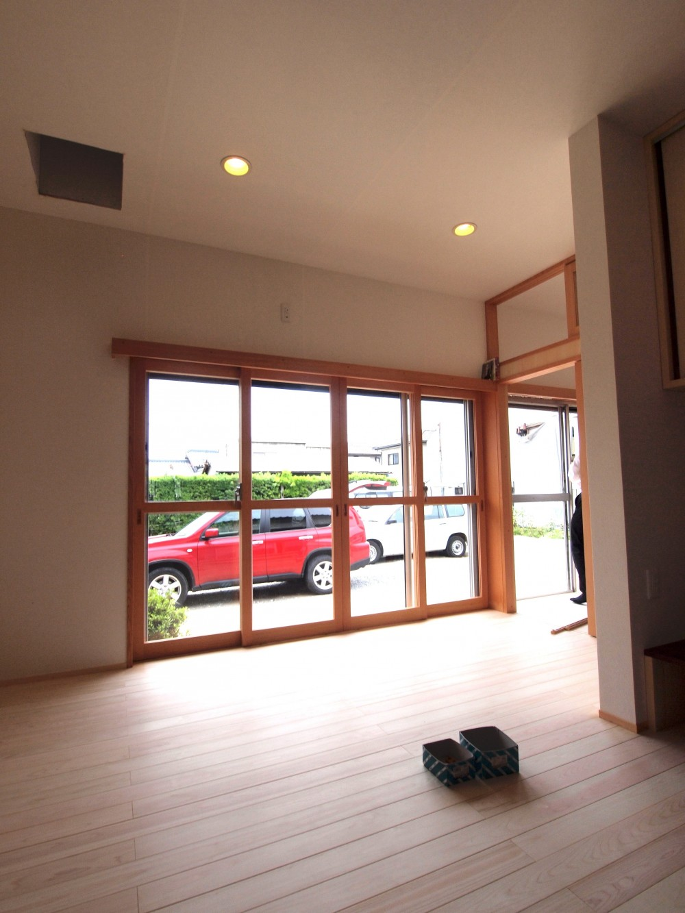 Tさま邸母屋リノベーション (リビングの掃き出し窓)