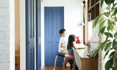 ヴィンテージマンションリフォーム 子供部屋とスタディースペースをつくる (スタディスペース)