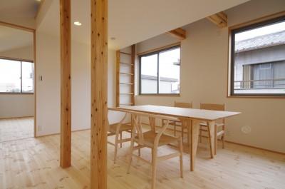 子供部屋は将来家具などで間仕切り。 (economa〜吹き抜けで繋がるおおらかな住まい〜)