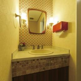 ヴィンテージマンションリフォーム 子供部屋とスタディースペースをつくる (トイレ)