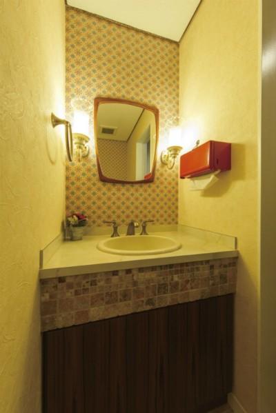 トイレ (ヴィンテージマンションリフォーム 子供部屋とスタディースペースをつくる)