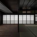 姫路・天満の家 主屋の写真 仏間とホール