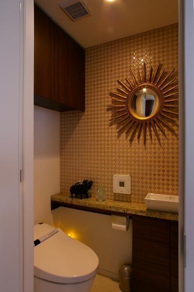 トイレ (M邸 / 新築マンションのリフォーム)