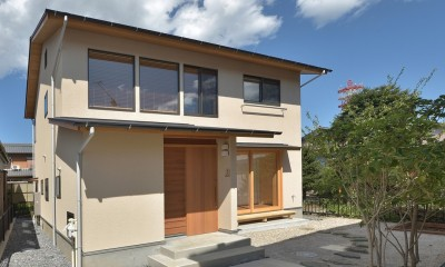 豊田市の旗竿地の家
