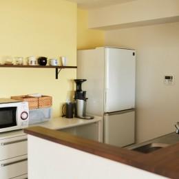 """心地いい小上がりやキッチンに、使いやすい洗面所。すべてが""""ちょうどいい""""間取り。"""