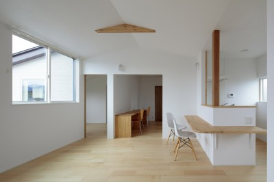 Two families House in Mito (2階LDK)