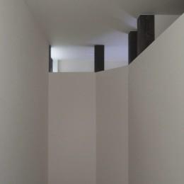 東区の小さな家 (東区の小さな家 階段上部)