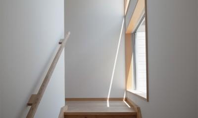 多世帯のコの字の家 (多世帯のコの字の家・階段)