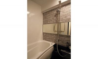 ナチュラルテイストな男前リノベーション (浴室)