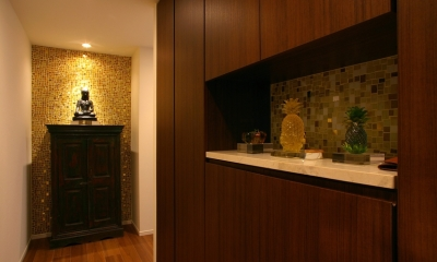 M邸 / 新築マンションのリフォーム (玄関)