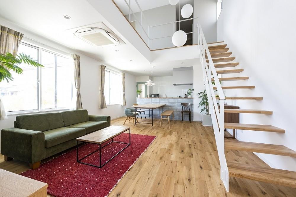 KANNA HOUSE (リビング)