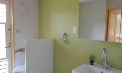 トイレ、洗面|取手市O邸新築工事