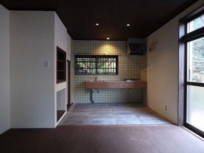 食堂・台所・1 (大磯K邸改修)