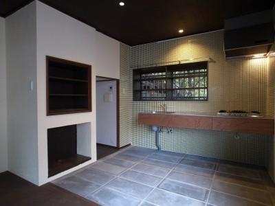 食堂・台所・2 (大磯K邸改修)