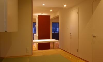 T邸 / 風が通り視線が通る、家全体を一日中使える小さな住まい (寝室、和室、書斎コーナー)
