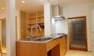 陽廻りの家 (キッチン)