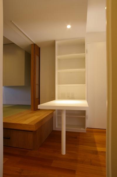 書斎コーナー (T邸 / 風が通り視線が通る、家全体を一日中使える小さな住まい)